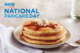 National Free Pancake Day!